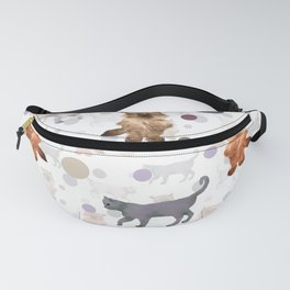 Kittens and ball Fanny Pack