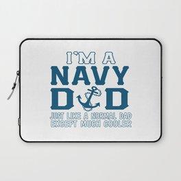 I'M A NAVY DAD Laptop Sleeve