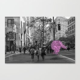 Unseen Monsters of San Francisco - Toof McShizzy Canvas Print