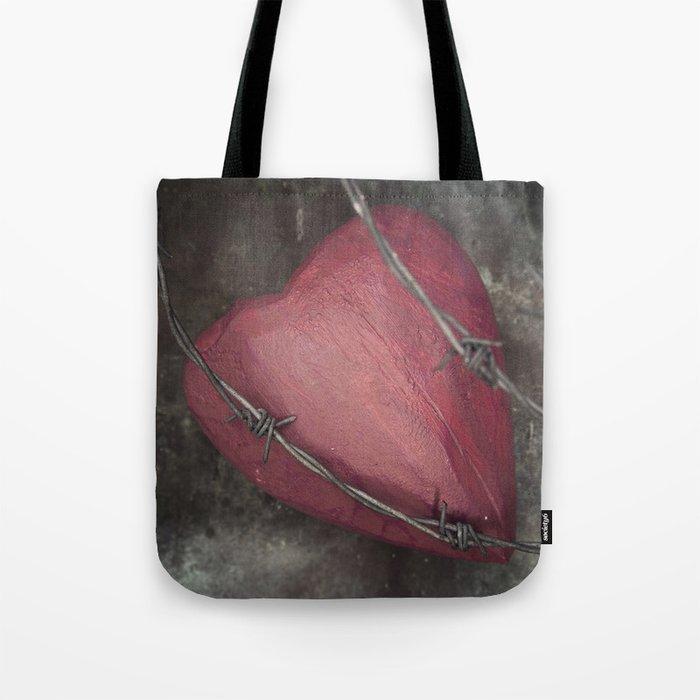 Trapped Heart II Tote Bag