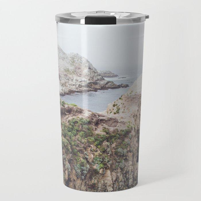 Salt Flats | Misty Foggy Landscape Photography of California Ocean Coast Travel Mug