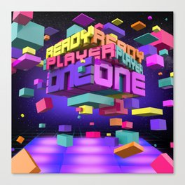 Ready Player One Canvas Print