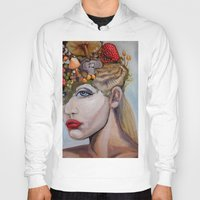 alice wonderland Hoodies featuring Wonderland by HeatherIRELANDArtz