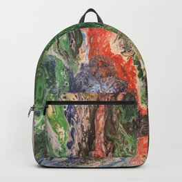 Under the sea Fairy tales #2 green paradise  Backpack
