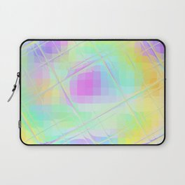 Re-Created Twisted SQ XVI by Robert S. Lee Laptop Sleeve