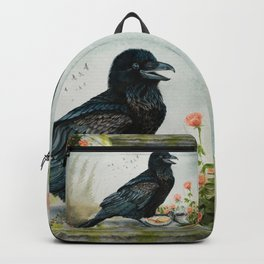 Breakfast With the Raven Backpack