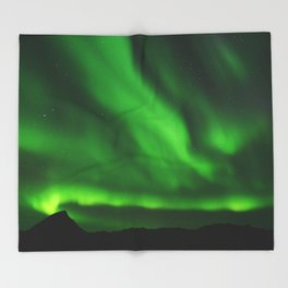The Northern Lights 07 Throw Blanket