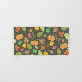 Thanksgiving pattern Hand & Bath Towel