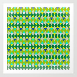 Green Pictures Art Print