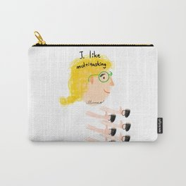 Multitasking woman Carry-All Pouch