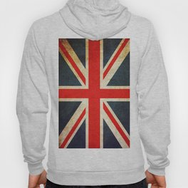 Vintage Union Jack British Flag Hoody