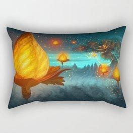 Magical lights Rectangular Pillow