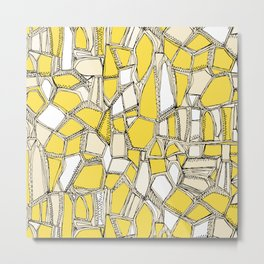 BROKEN POP lemon Metal Print
