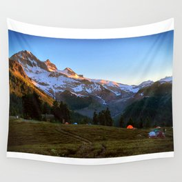 Garibaldi Mountain Sun Rise  Wall Tapestry