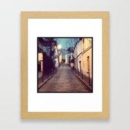 Belleville Framed Art Print