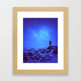 Lost the Moon While Counting Stars III Framed Art Print