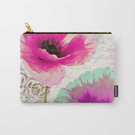 Poppies and Paint II Carry-All Pouch