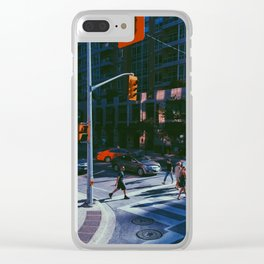 Toronto Sidewalk Clear iPhone Case