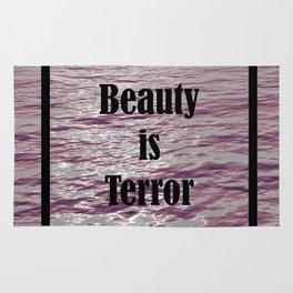 BEAUTY IS TERROR | THE SECRET HISTORY BY DONNA TARTT Rug