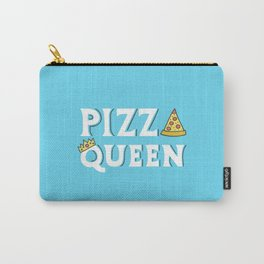 Pizza Queen Blue Carry-All Pouch