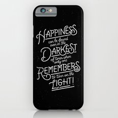 Happiness can be found iPhone 6s Slim Case