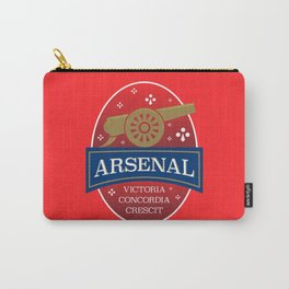North London Red Football Carry-All Pouch