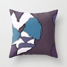 Man face Throw Pillow