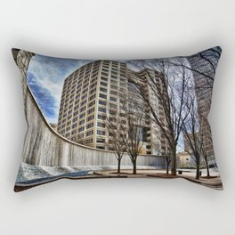 Fountain at Woodruff Park Rectangular Pillow