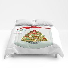 I'll Be Home For Christmas, Christmas Tree Globe Comforters