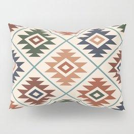 Aztec Symbol Pattern Col Mix Pillow Sham