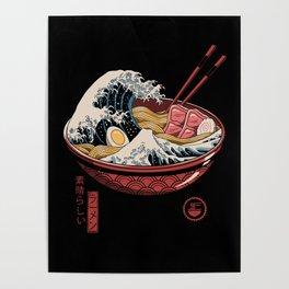 Great Ramen Wave Poster