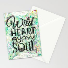 Wild Heart, Gypsy Soul Stationery Cards