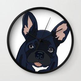 Lulu the French Bulldog Wall Clock