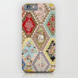 13-Panel Hexagon Quilt iPhone Case