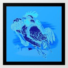 Aerial Perspective Art Print