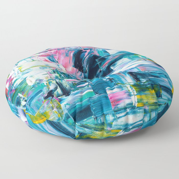 sea & sunrise Floor Pillow