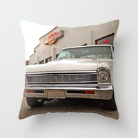 american beauty Throw Pillows featuring American beauty #2 by Vorona Photography