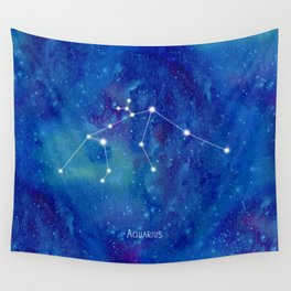 Constellation Aquarius Wall Tapestry