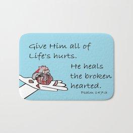 Healer of Hearts Bath Mat