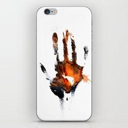 Hold My Hand iPhone Skin