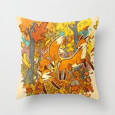 Autumn Eternal  Throw Pillow