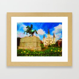 St. Louis Cathedral NOLA Framed Art Print