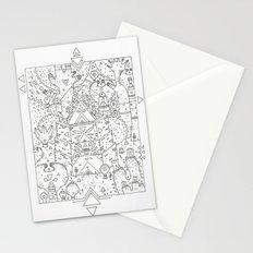 garden of koznoz Stationery Cards