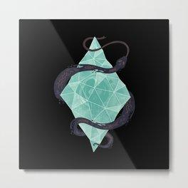 Mystic Crystal Metal Print