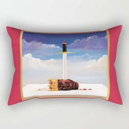 KanyeWest- My Beautiful Dark Twisted Fantasy Rectangular Pillow