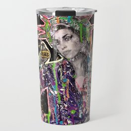 Rehab Amy Graffiti in New York City Travel Mug