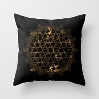 infinite Throw Pillows featuring Infinite by Zach Terrell
