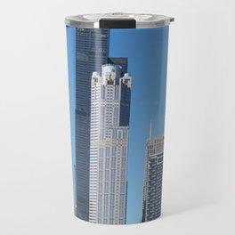 Chicago Historic Skyline Travel Mug