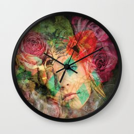 A smooth sea never made a skilled sailor  Wall Clock