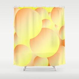Sunny Bubbles Shower Curtain